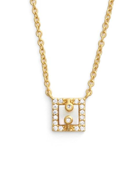 Freida Rothman | Metallic 'visionary' Small Pendant Necklace | Lyst
