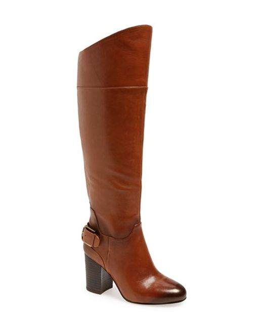 Vince Camuto | Brown 'sidney' Riding Boot | Lyst