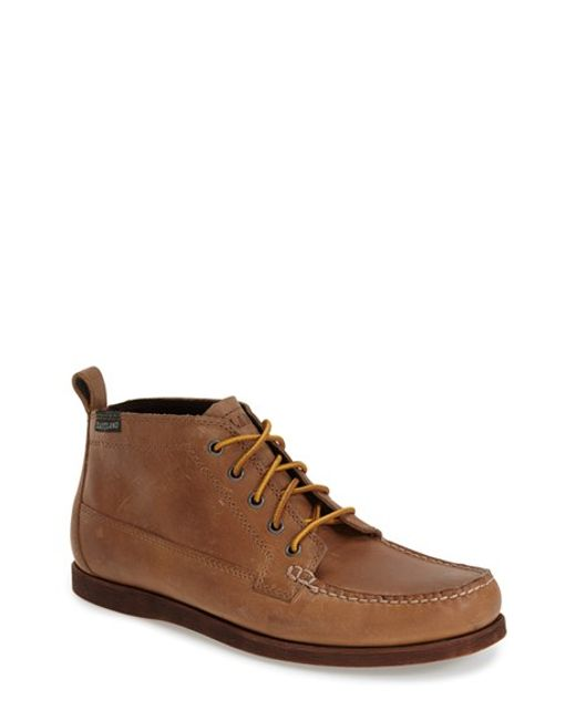 Eastland | Brown 'seneca' Moc Toe Boot for Men | Lyst