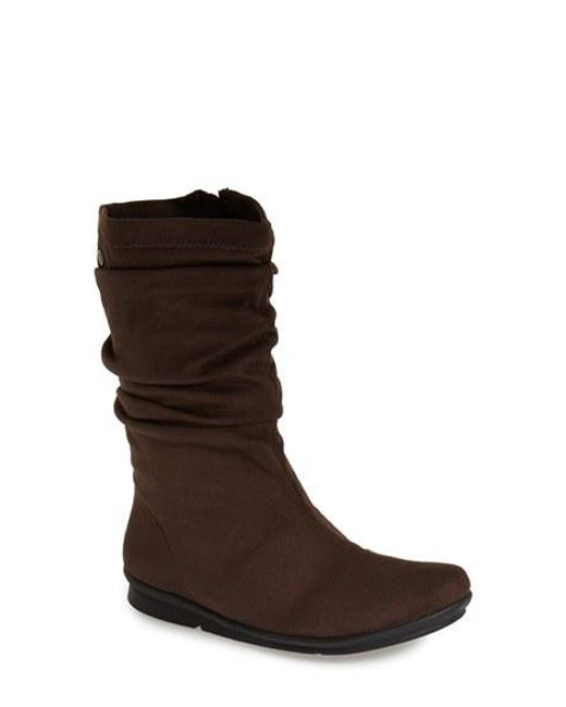 Bussola | Brown 'clive' Scrunch Sport Boot | Lyst