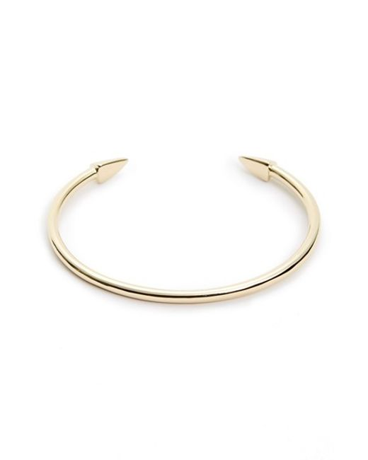 Elizabeth and James | Metallic 'vogel' Cuff | Lyst