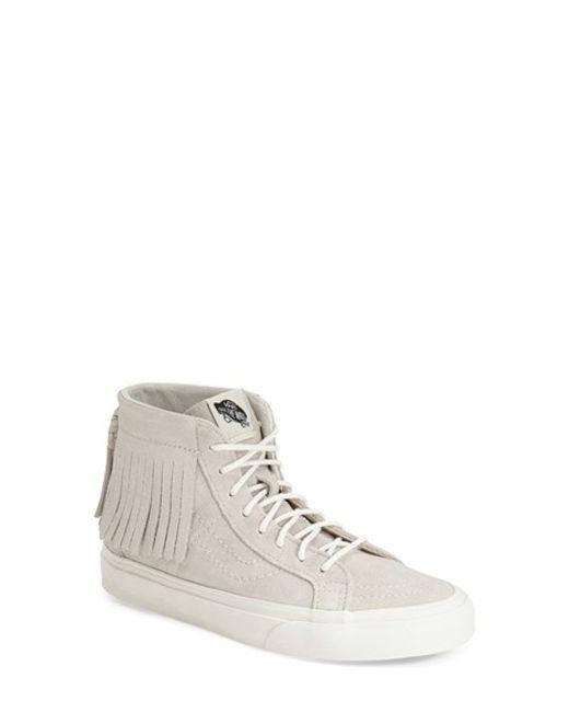 Vans | Gray 'sk8-hi' Moc Sneaker | Lyst