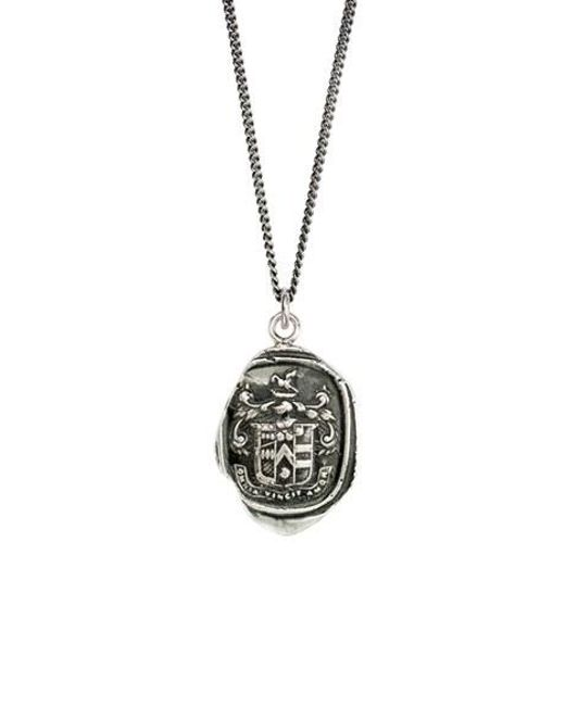 Pyrrha | Metallic Love Conquers All Talisman Necklace | Lyst