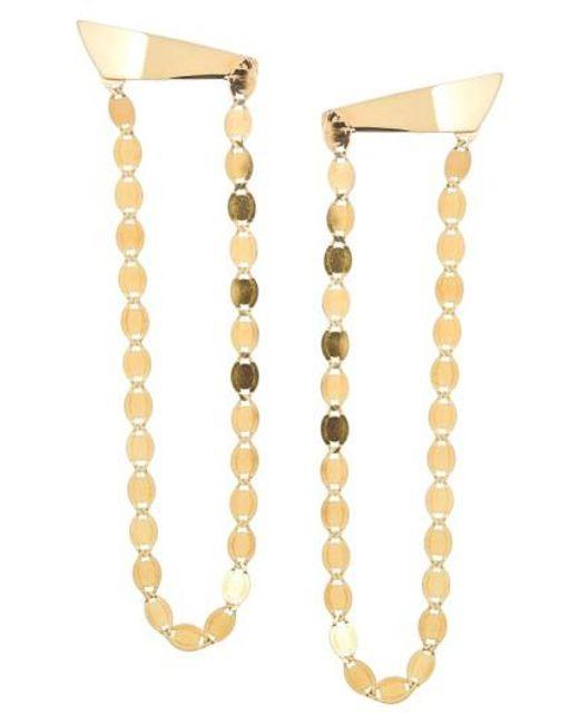 Lana Jewelry | Metallic 'long Nude' Chandelier Earrings | Lyst