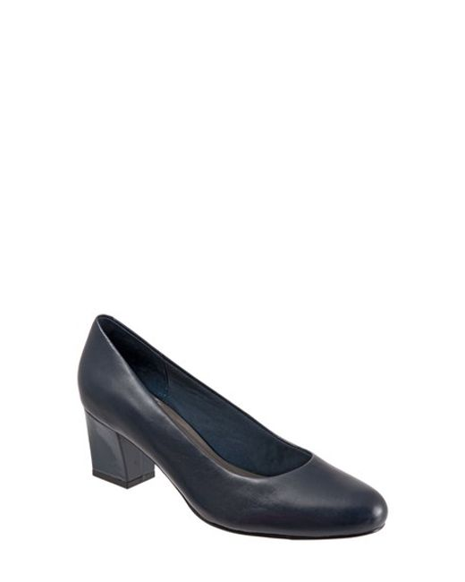 Trotters | Blue 'candela' Pump | Lyst