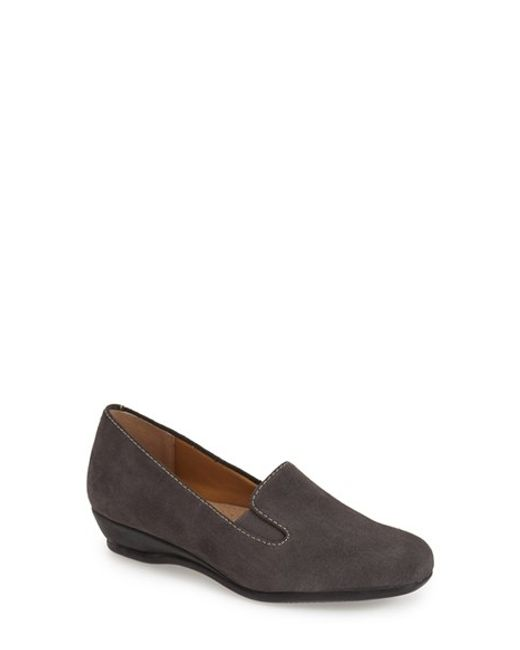 Trotters | Gray 'lamar' Loafer | Lyst
