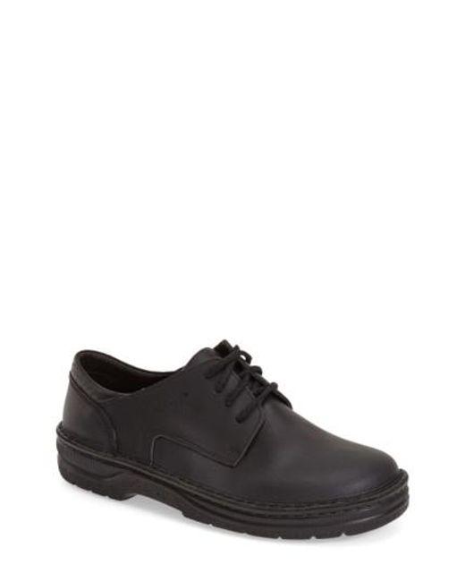 Naot   Black 'denali' Plain Toe Oxford for Men   Lyst