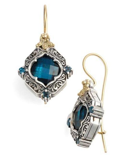 Konstantino | Multicolor 'thalassa' Drop Earrings | Lyst