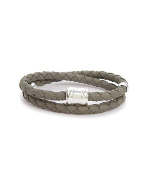 Miansai | Metallic Braided Leather Bracelet for Men | Lyst