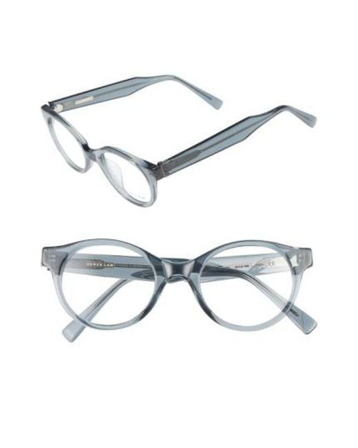 Derek Lam | Gray 45mm Optical Glasses | Lyst