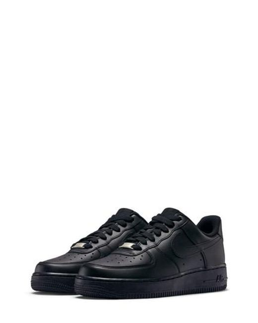 Nike | Black Air Force 1 '07 Sneaker for Men | Lyst