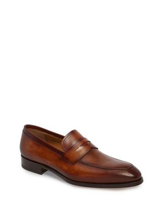 BallyMen's Plintor Leather Apron Toe Loafers UHnuYPNU