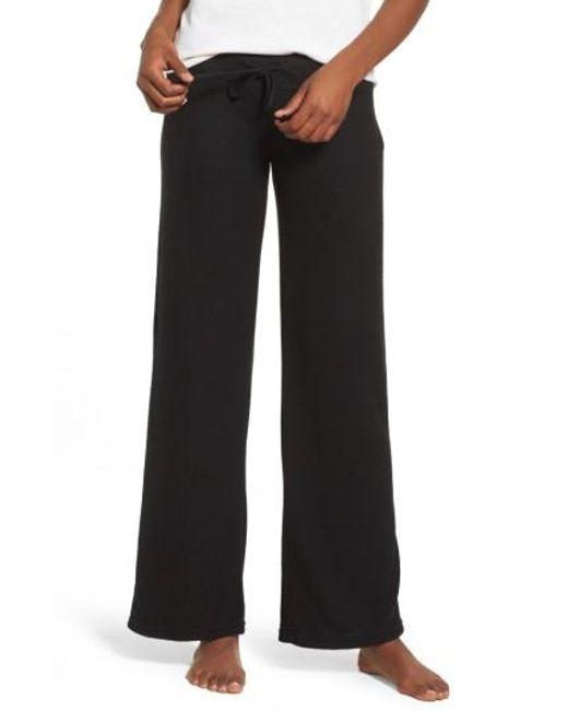 Make + Model   Black 'best Boyfriend' Brushed Hacci Lounge Pants   Lyst