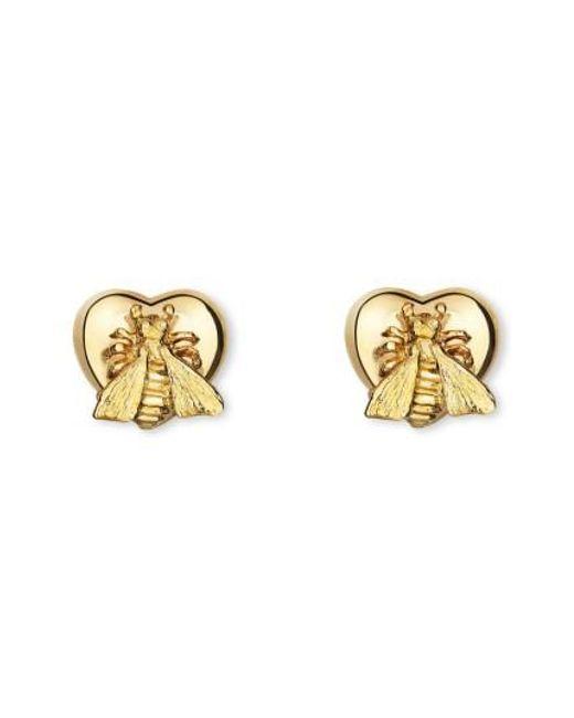 Gucci - Metallic Le Marche Des Merveilles Stud Earrings - Lyst