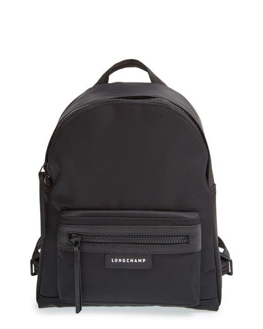 Longchamp Black 'small Le Pliage Neo' Nylon Backpack