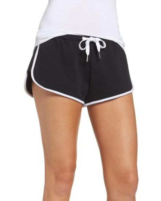 The Laundry Room   Black Cozy Crew Lounge Shorts   Lyst
