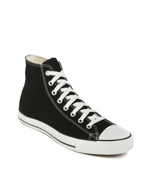 Converse | Black Chuck Taylor High Top Sneaker for Men | Lyst