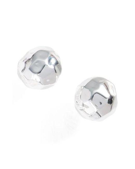 Gorjana | Metallic Leucadia Stud Earrings | Lyst
