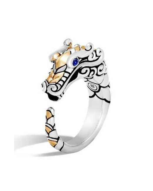 John Hardy - Metallic Legends Naga Ring - Lyst
