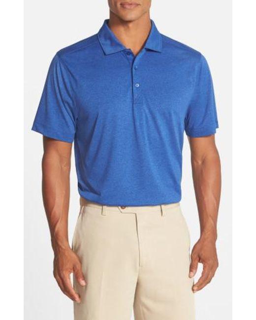 Cutter & Buck - Blue 'chelan' Drytec Polo for Men - Lyst