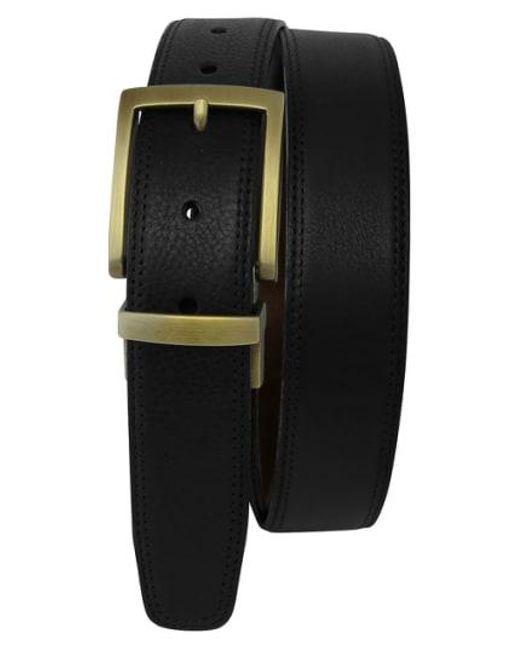 Boconi - Black Reversible Leather Belt for Men - Lyst