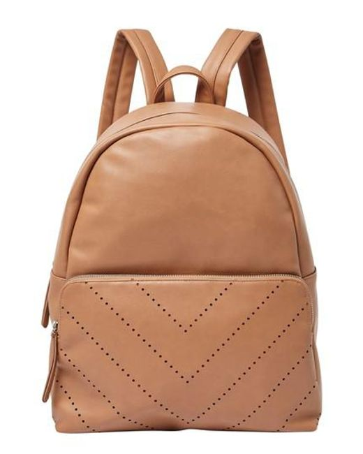 Urban Originals - Natural The Free Vegan Leather Backpack - Lyst