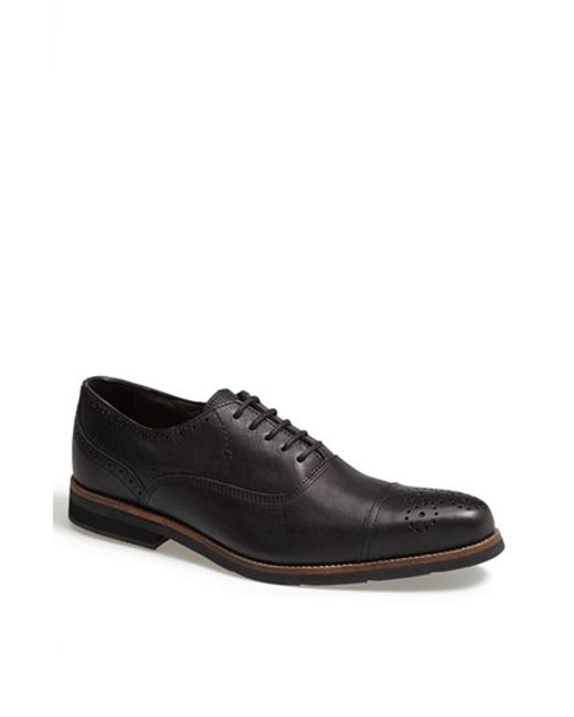 Blackstone | Black 'cm 03' Cap Toe Oxford for Men | Lyst