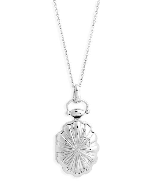Monica Rich Kosann - Metallic Sunburst Locket Necklace - Lyst