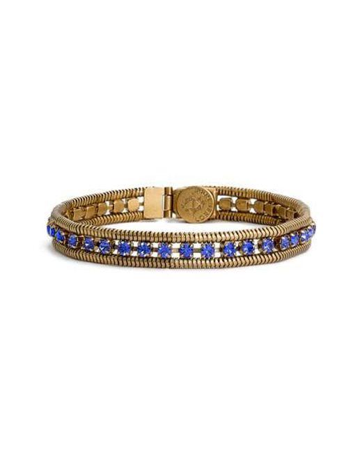 Loren Hope | Blue 'clara' Crystal Bracelet | Lyst