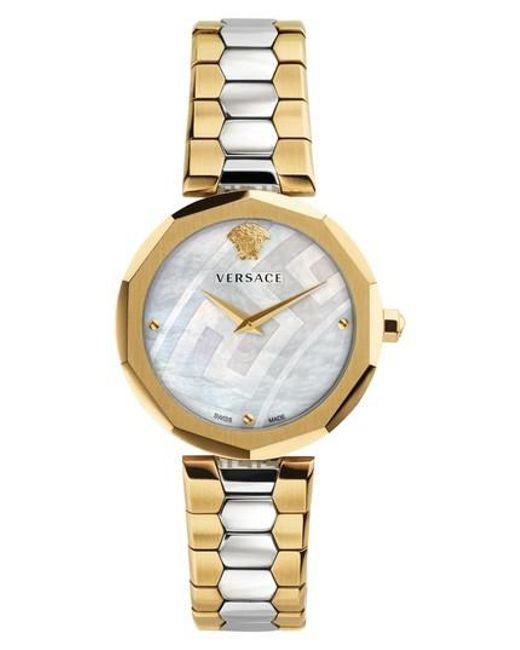Versace   Metallic Idyia Bracelet Watch   Lyst