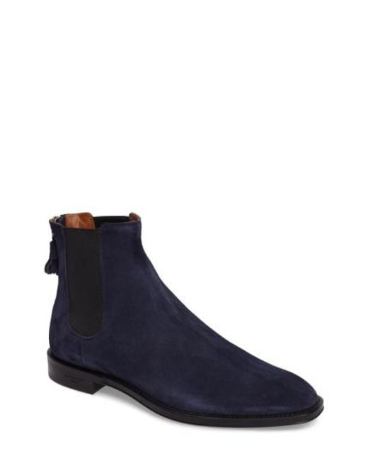 Givenchy   Blue Chelsea Boot for Men   Lyst