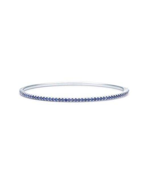 Kwiat - Blue Sapphire Stacking Bracelet - Lyst