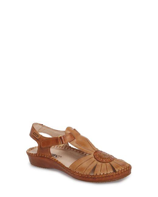 Pikolinos - Brown 'p. Vallerta' Leather Flat - Lyst