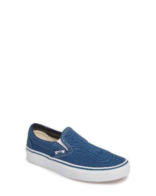 Vans | Blue 'classic' Sneaker | Lyst