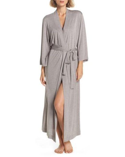 Natori | Gray 'shangri-la' Robe | Lyst