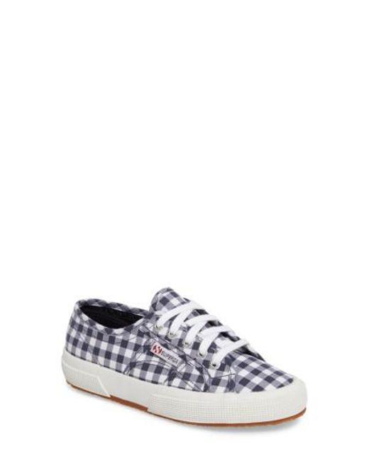 Superga | Blue 2750 Calico Sneaker | Lyst