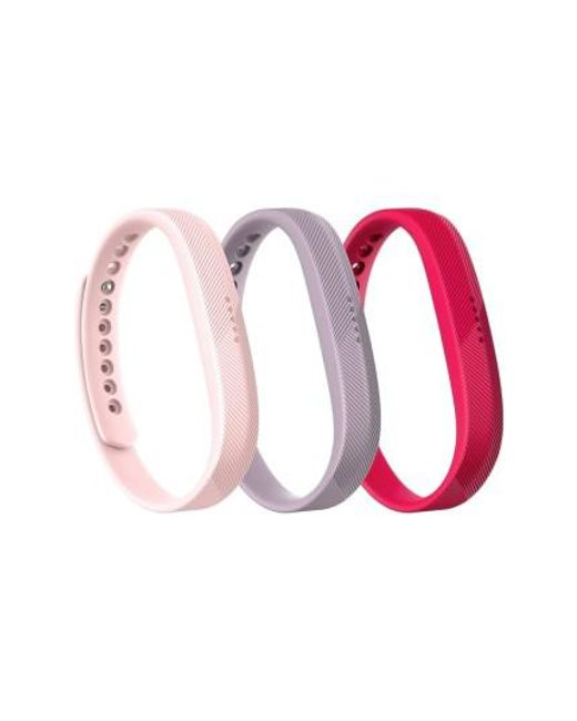 Fitbit | Pink Flex 2 3-pack Accessory Bands | Lyst