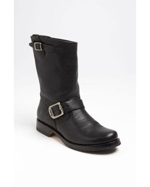 Frye | Black 'veronica' Short Boot | Lyst