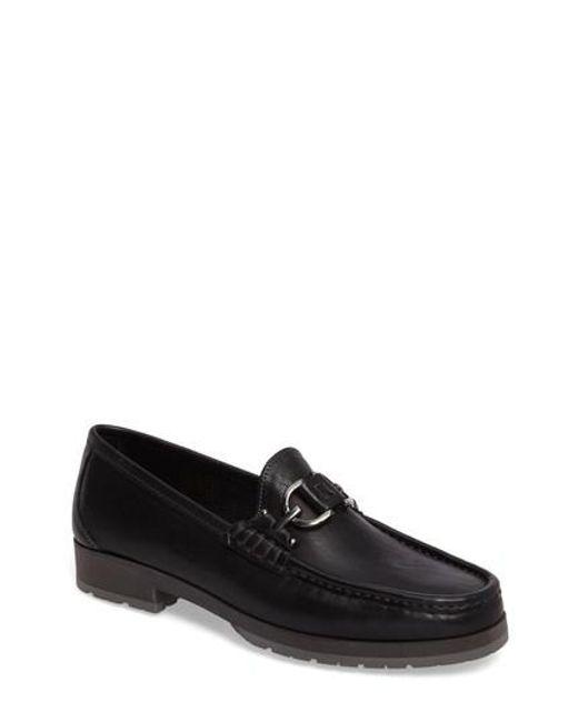 Donald J Pliner | Black 'lelio' Bit Loafer for Men | Lyst