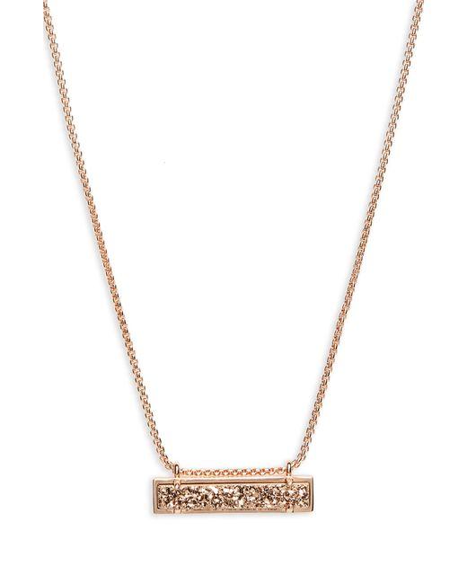 Kendra Scott - Metallic Leanor Pendant Necklace - Lyst