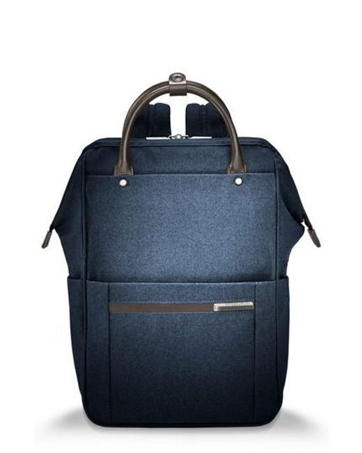 Briggs & Riley | Blue Kinzie Street Backpack | Lyst