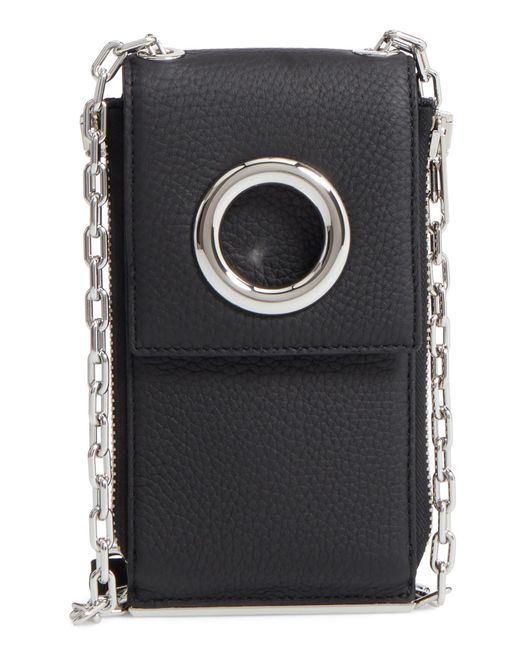 Alexander Wang - Black Riot Leather Wallet On A Chain - Lyst