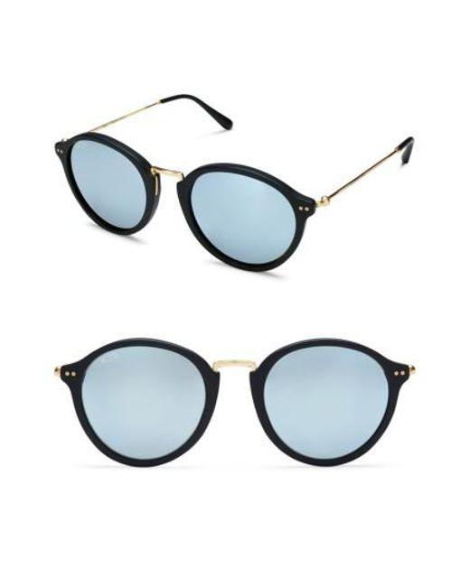 KAPTEN & SON | Black Maui 48mm Sunglasses | Lyst
