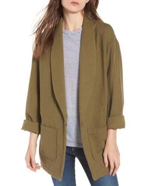 AG Jeans - Green Maura Jacket - Lyst