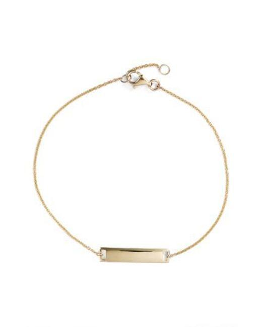 Bony Levy | Metallic Geo Bar Bracelet (nordstrom Exclusive) | Lyst