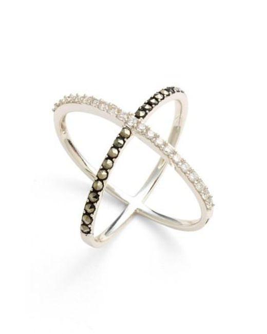 Judith Jack | Metallic 'rings & Things' Crossover Ring | Lyst