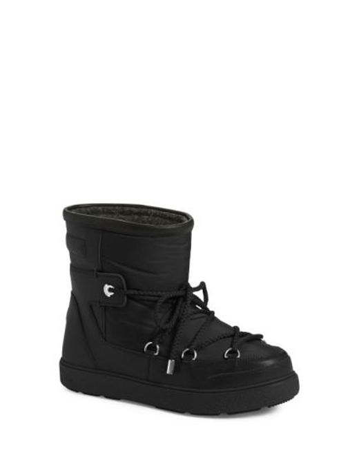 Moncler - Black Fanny Shearling-lined Ankle Boot - Lyst