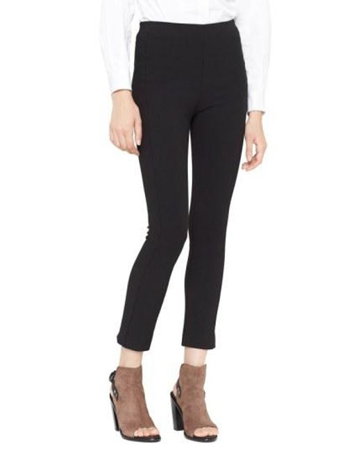 Rag & Bone - Black 'simone' Slim Ankle Pants - Lyst