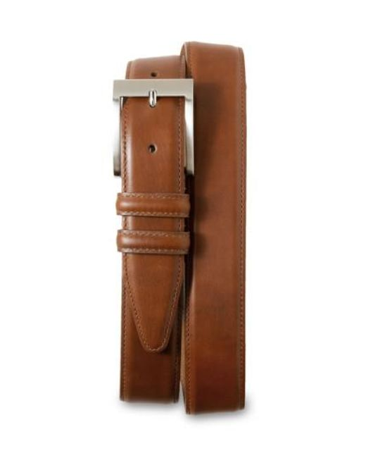 Allen Edmonds - Brown Classic Wide Belt for Men - Lyst