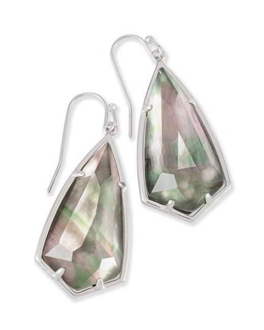 Kendra Scott | Metallic Carla Semiprecious Stone Drop Earrings | Lyst